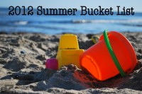 2012 Summer Bucket List