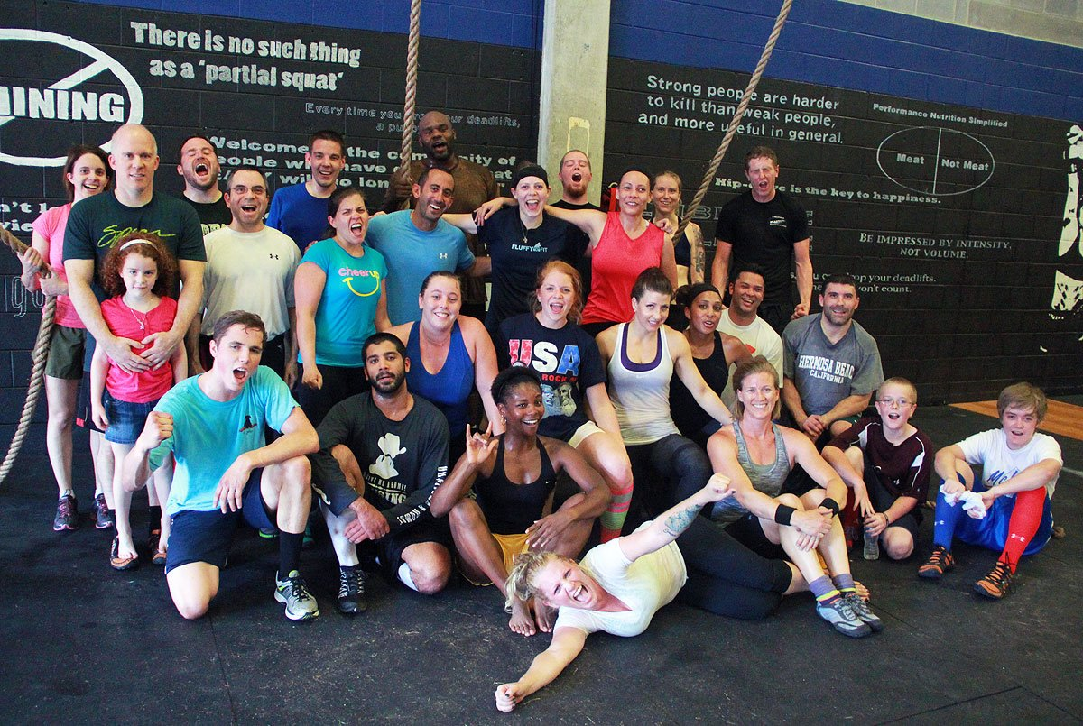 my one year crossfit anniversary the meanest momma