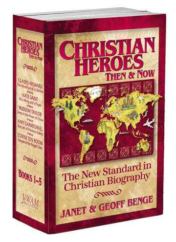 Christian Heroes your Children MUST meet … and a GIVEAWAY!